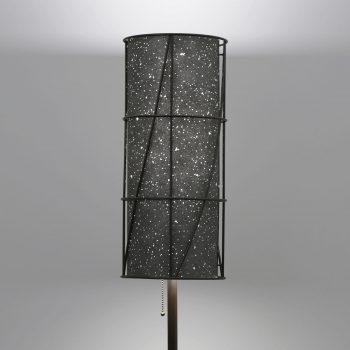 Lumetta's Arc Floor Lamp with Custom KnollTextiles Environmental Shade