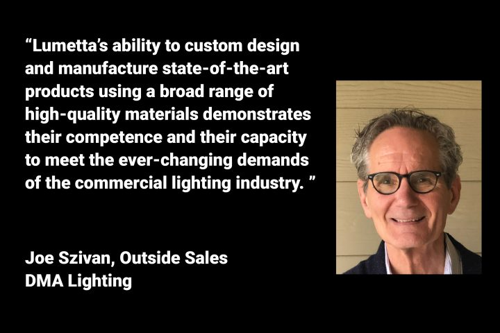 Lumetta Creates Customized Lighting for the Commercial Market